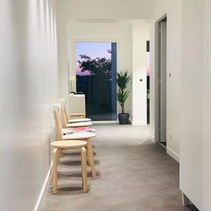 Salle attente Cabinet d'hypnose à Bidart, Amaia Larre
